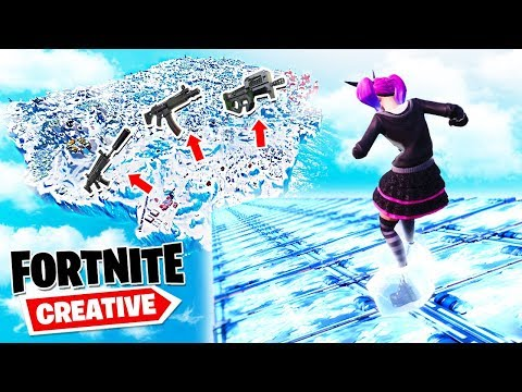 Fortnite LOSOWA ŚLIZGAWKA CHALLENGE | Fortnite Creative