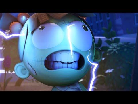 Funny Animated Cartoon   Spookiz   Zizi 😱 Became Cula?! 😱   스푸키즈   Cartoon For Children