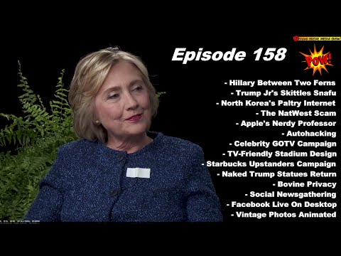 Hillary Clinton On Between Two Ferns with Zach Galifianakis - Beyond Social Media Show # 158
