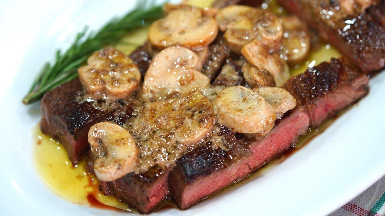 طريقة عمل اقوى ريب آي ستيك Rib Eye Steak Youtube Cooking Tasty Food