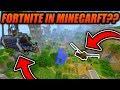 Fortnite in MINECRAFT?? - Fortnite Minigame Idea For Minecraft - Minecraft Xbox/PE/Java