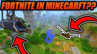 Fortnite in MINECRAFT?? - Fortnite Minigame Idea For Minecraft - Minecraft Xbox/PE/Java