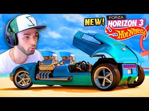 😱 I GOT A CRAZY NEW CAR! (AND CRASHED IT) 🚗💨 - Forza Horizon 3 (HOT WHEELS DLC)