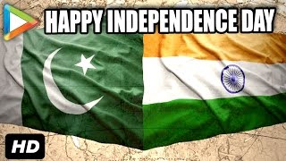 Hungama Wishes India & Pakistan a Happy independence Day!