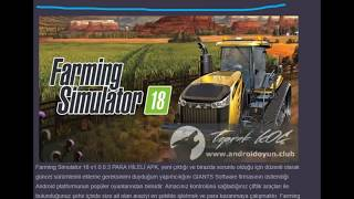 farming simulator 2018 para hileli indirme link aşada bedava
