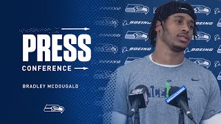 Seahawks Safety Bradley McDougald Minicamp Press Conference