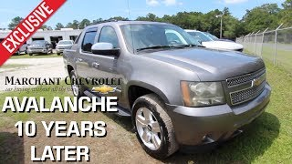 Here's the 2007 Chevrolet Avalanche LTZ - Over 10 YEARS Later Review | For Sale Marchant Chevy