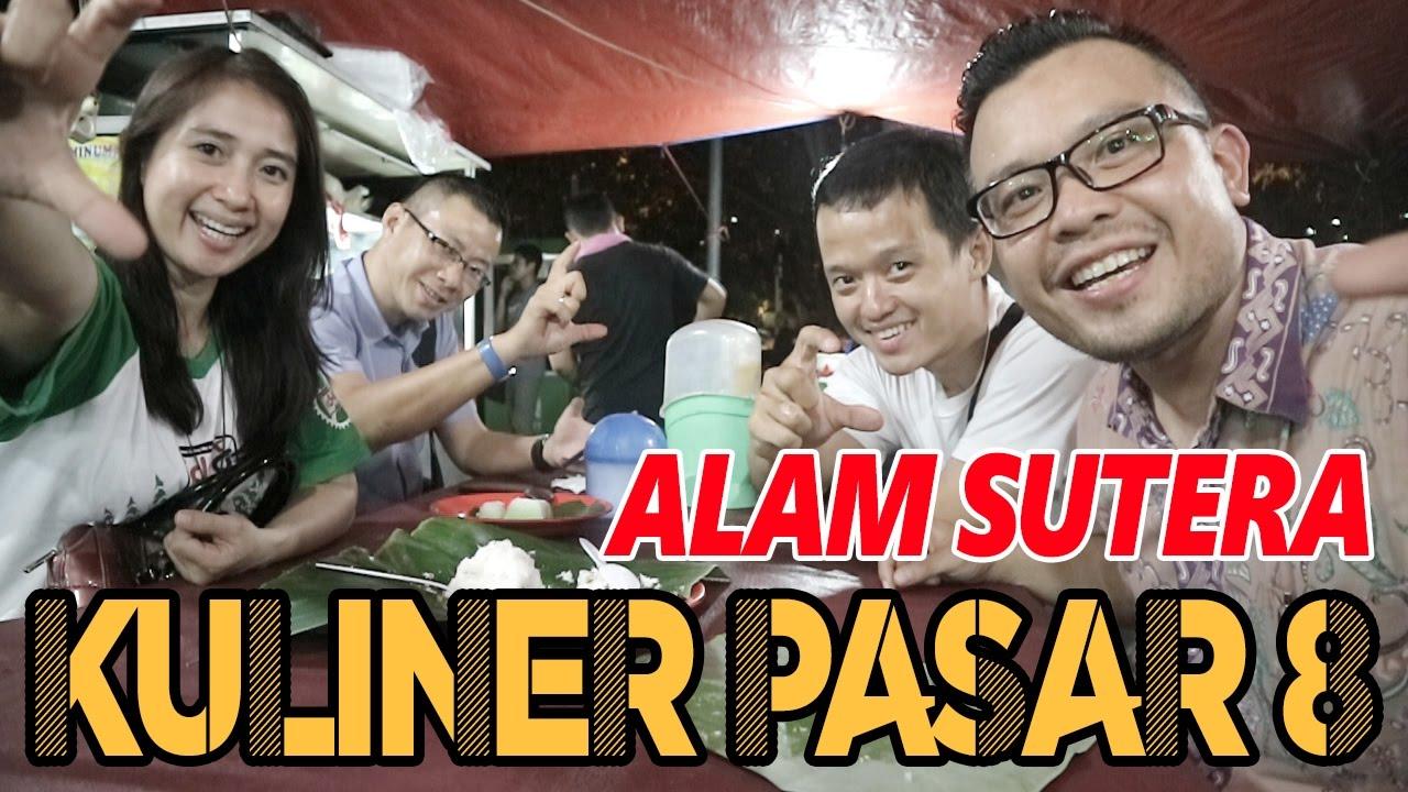 Kuliner Seru Di Pasar 8 Delapan Alam Sutera Tangerang Sinar Garut Kue Putu Medan