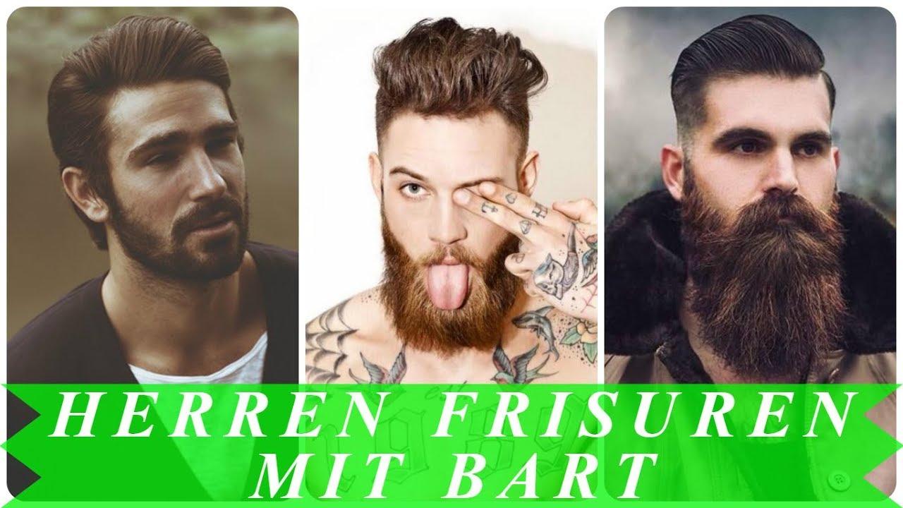 Aktuelle Frisuren Männer Mit Bart Youtube