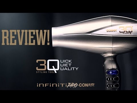 Review: Infiniti Pro 3Q by Conair Hair Dryer