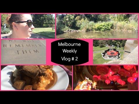 Melbourne Weekly Vlog 2 - Shrine Of Remembrance, Botanical Gardens...