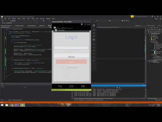 Xamarin Android Tutorial   30  Activities