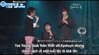 090718 7 Years Of Love + Interview - Kyuhyun [Vietsub]