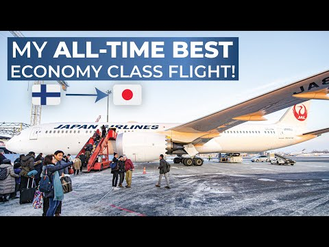 TRIPREPORT | Japan Airlines (ECONOMY) | Helsinki - Tokyo Narita | Boeing 787-9
