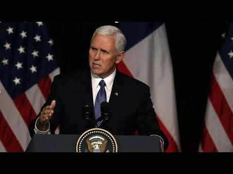 US Vice President Pence's China speech and its influence