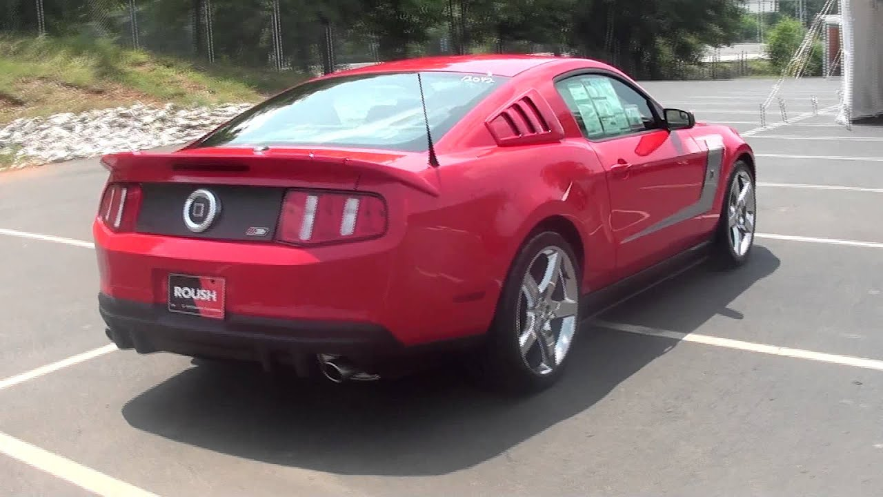 FOR SALE NEW 2012 FORD MUSTANG ROUSH 3!!! 540 H.P. !!! STK# 12042 ...