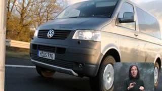 Volkswagen Transporter Kasten.  Моторы 33.  С переводом на жестовый язык