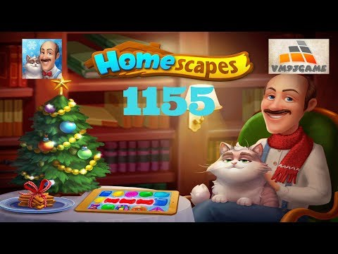 HOMESCAPES Gameplay -