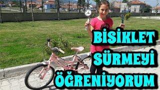 Nasıl Bisiklet Sürülür - Bisiklet Sürmeyi Öğreniyorum !!