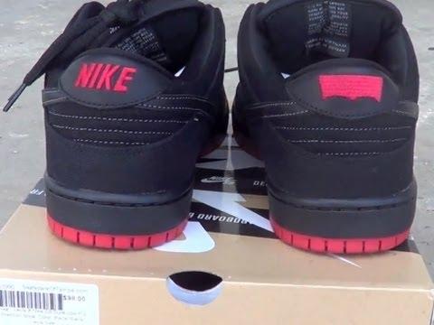 Levi's x Nike SB Black Denim Dunk Low