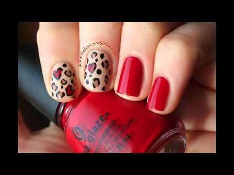 Diseño de Uñas Animal Print Leopardo Hermosas