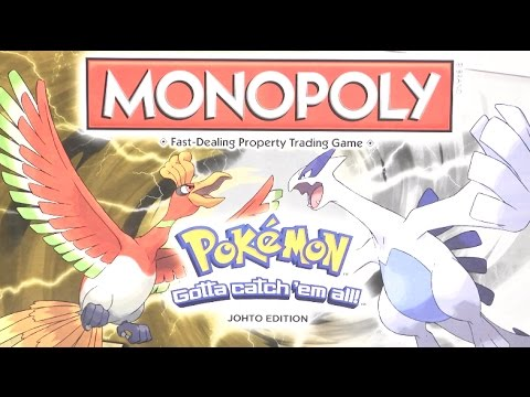 Monopoly Pokemon Johto Edition from USAopoly