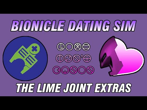 Love Isn't Canon: BIONICLE DATING SIM?! - The Lime Joint Lost Episode