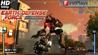 Earth Defense Force: Insect Armageddon - PC Gameplay 1080p