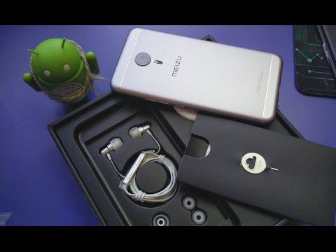 Meizu PRO 5 4/64 TOP версия самого ТОПового и стильного китайского флагмана. Посылка с TomTop 4k