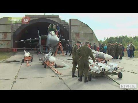 День открытых дверей на военном аэродроме