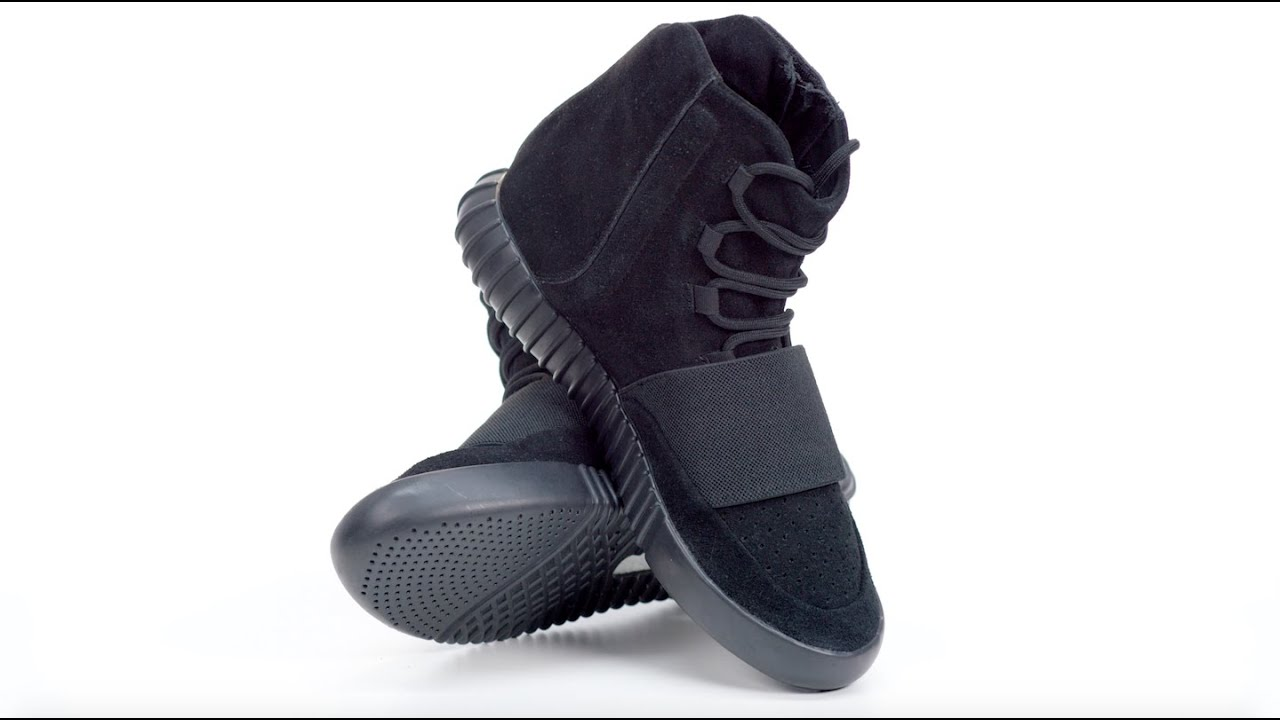 size 40 0d97e c1797 Sneakers In 4K: adidas Yeezy Boost 750 Black