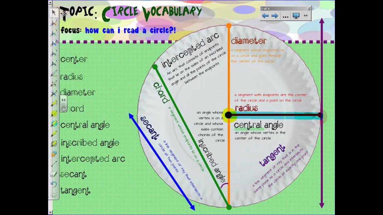 Unit 11 Circle Vocabulary