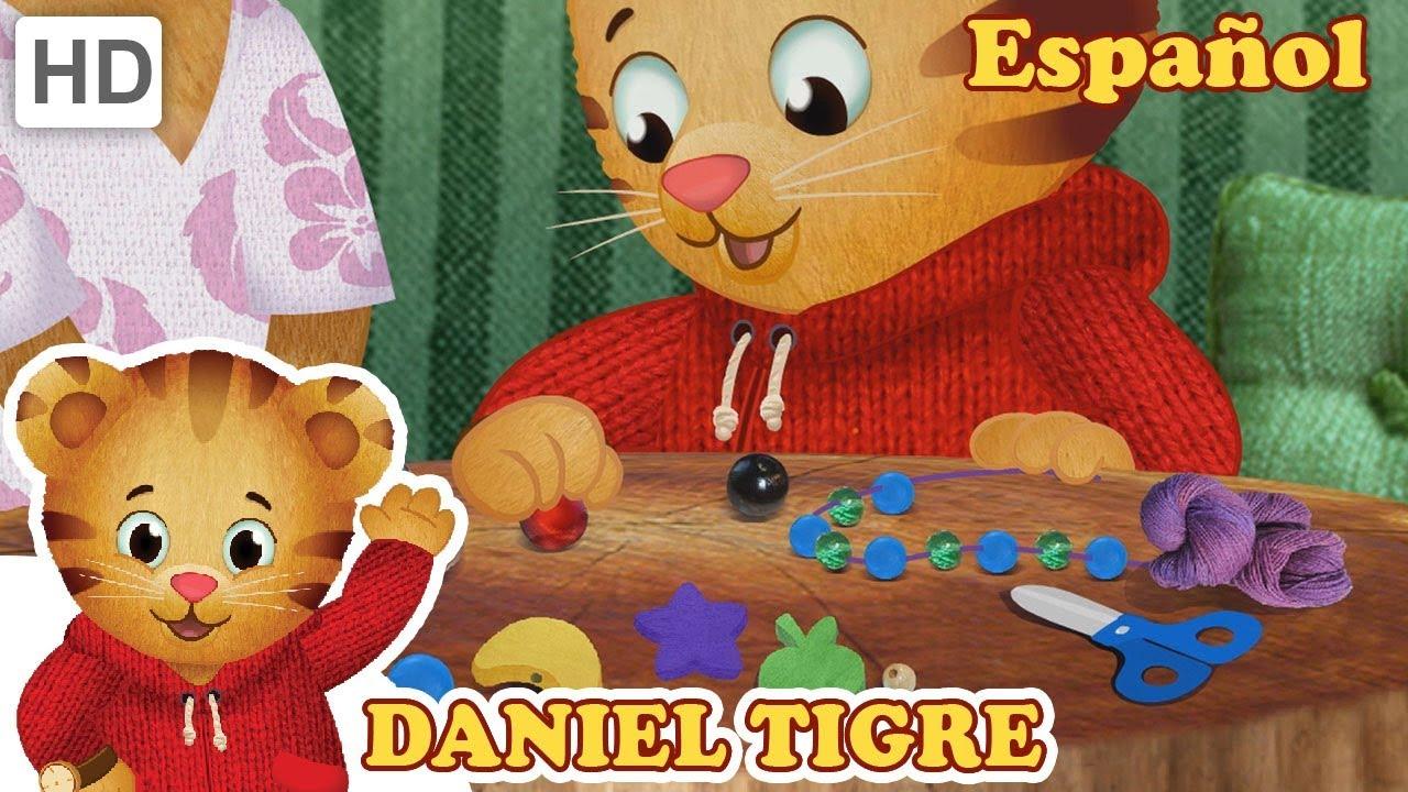 Daniel Tigre en Español - ¡Haga un Regalo Especial para Mamá y Papá ...