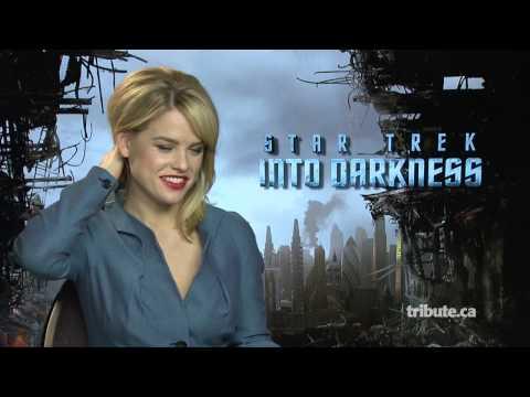 Alice Eve - Star Trek Into Darkness Interview HD