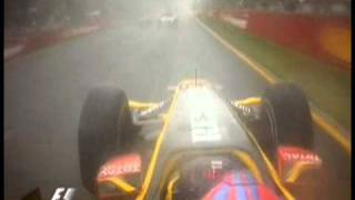 Rain Meister Vitaly Petrov - awesome wet start