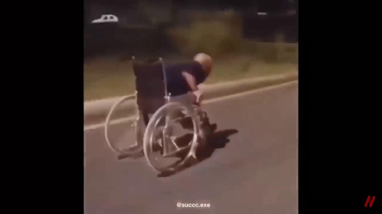 Speeding Wheelchair Meme
