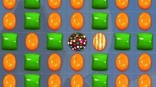 Candy Crush - CRAZY GREEN & ORANGE CANDIES COMBO!! screenshot 3