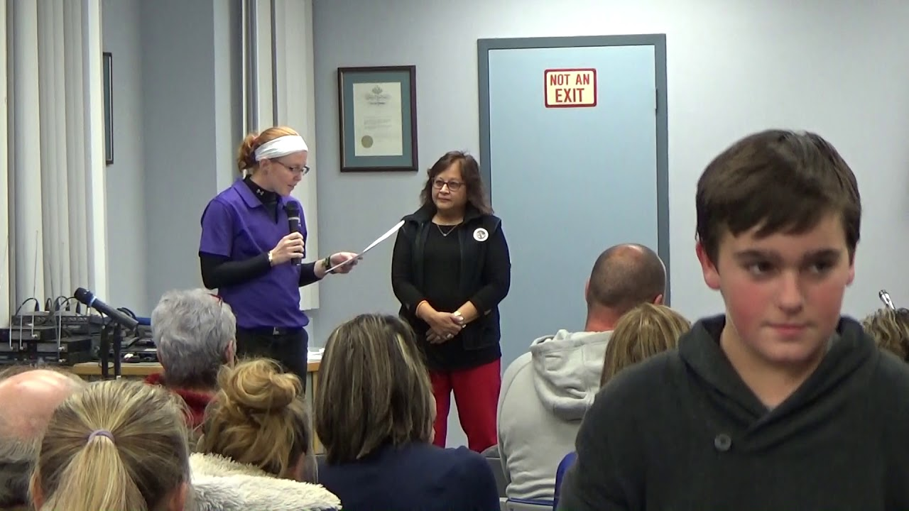 Town of Plattsburgh Meeting  11-1-18