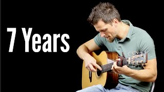 Download 7 Years - Solo Fingerstyle Guitar Version MP3 song and Music Video