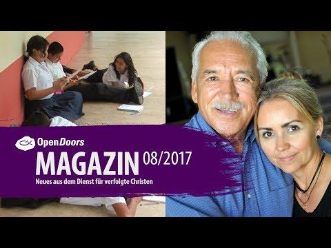 Open Doors Video Magazin 08/17: Mexiko und Kolumbien