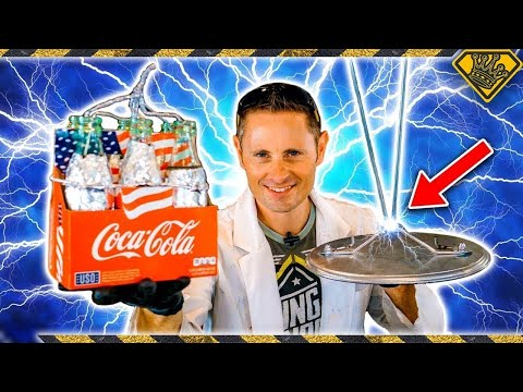 Thumbnail: How To Make Lightning ⚡ With Coke Bottles