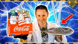 How To Make A 'TESLA' Battery With Coke Bottles