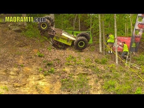 OUTLAW CRASHES OFF THE MOUNTAIN AND DRIVES AWAY