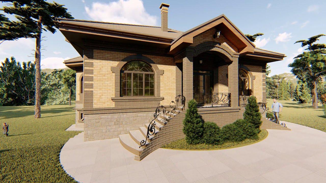 Готовый проект дома «Малахит»