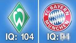 Wie intelligent sind die Fans der Bundesliga Clubs?