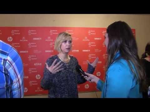 "Kristen Wiig Sundance ""Nasty Baby"" Interview"