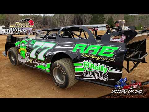 #M77 Morgen Lambert - 602 Sportsman - 3-23-19 North Alabama Speedway - In Car Camera