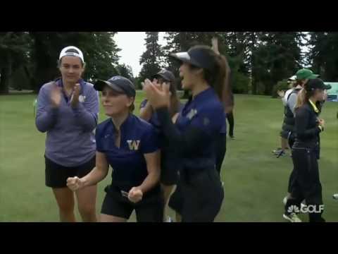National Champions - UW Women's Golf Team