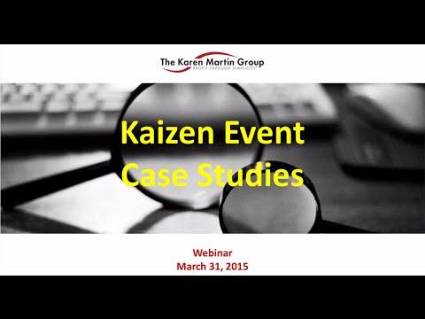 Kaizen Event Case Studies