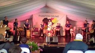 Muchongoyo Phantom Drums Floriade 2010.mov